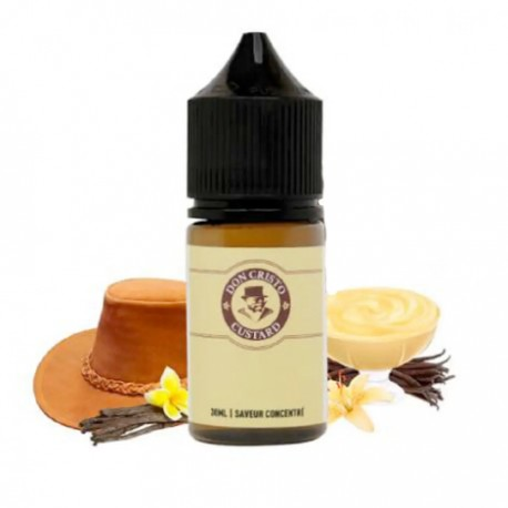Don Cristo Custard by PGVG 30ML Concentrate